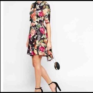 ASOS multicolored Floral Dress